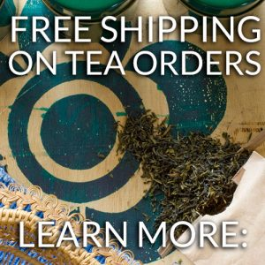 Free Shipping on Organic Tea Orders