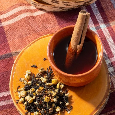 Organic Adirondack Bliss Black Tea - Organic Red Rooibos, Organic Chamomile, Organic Cinnamon and Natural Flavo