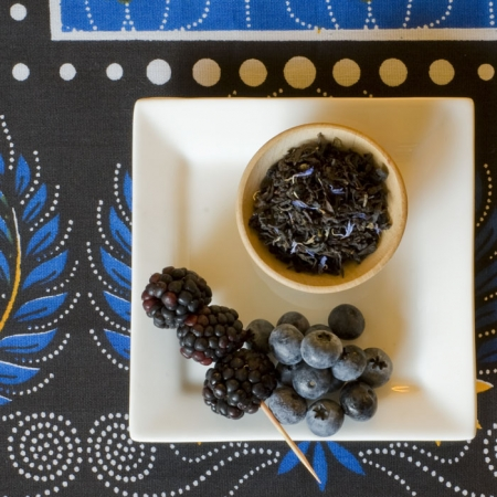 Organic Black and Blue Tea