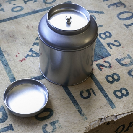 Double Sealed Stainless Steel Tea Tin