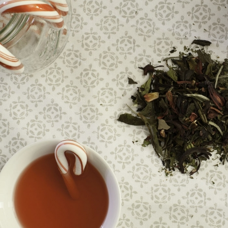 Buy Online - USDA Certified Organic Candy Cane White Tea