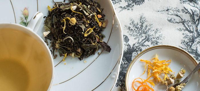 Buy Online - USDA Certified Organic Lady Marmalade Tea. Bold green tea with classic bergamot, and a finish of sweet floral chamomile and elder flower. Available in Bulk & Wholesale.