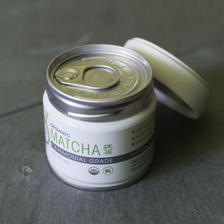 Buy Online - USDA Certified Organic Ceremonial Grade Matcha - In sealed tins