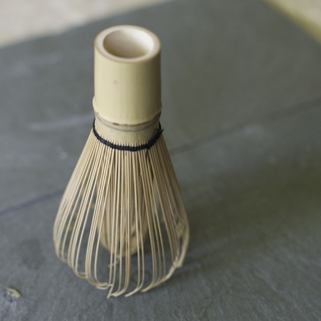 Buy Online - Bamboo Matcha Whisk Holder - For the perfect frothy matcha. Used for traditional matcha tea service