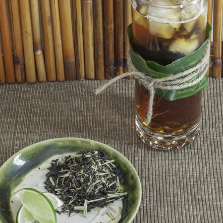 Buy Online - USDA Certified Organic Tiki Tea: An enticing organic black tea blend of coconut, lime, and lemongrass. Smooth and mildly tart. Makes an excellent iced tea.
