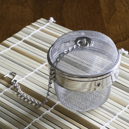 Buy Online - Tea Egg Large Mesh Infuser with Chain for Loose Leaf Teas